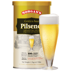 Buy Morgan's Premium Golden Saaz Pilsener 1.7kg ONLINE